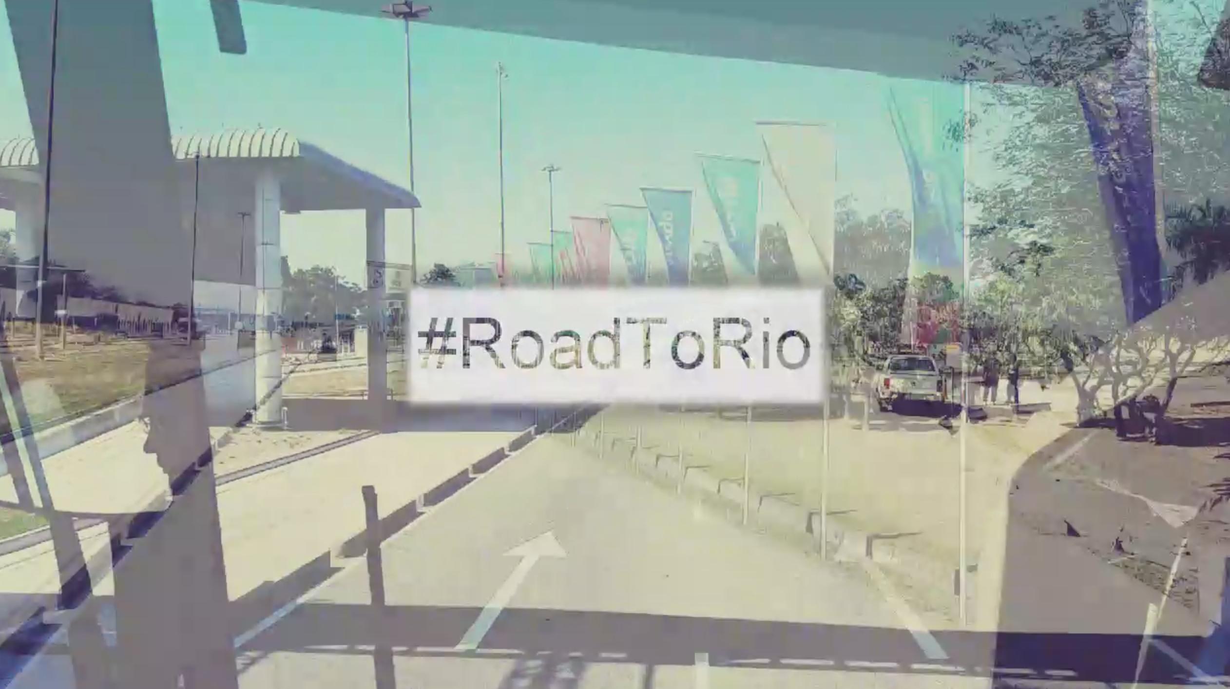 #RoadToRio